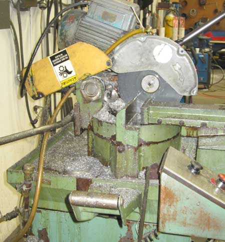 350mm PEDRAZZOLI Super Brown 350/6 Semi-Automatic Cold Saw