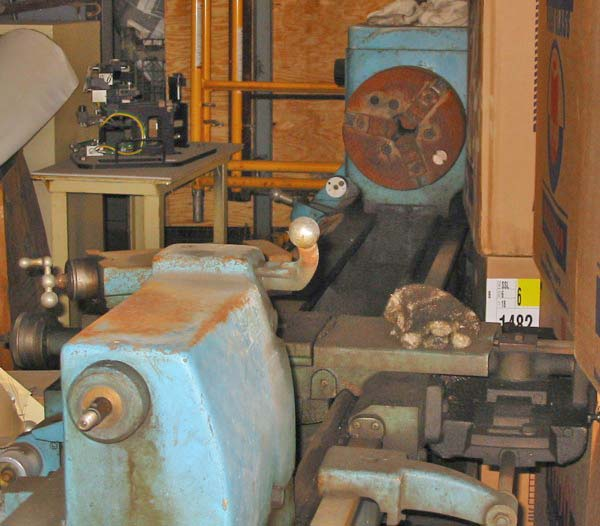 19-1/4 / 12-1/4 x 78 LEBLOND Regal Engine Lathe, Parts Only