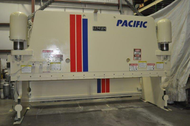 300 Ton PACIFIC 300-16 Hydraulic Press Brake, 14'6 Bet Hsgs, 30 HP