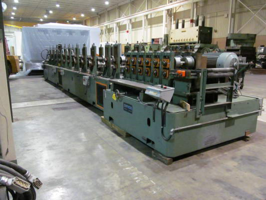 17-Stand SAMCO Truss Roll Forming Line, 2.5 to 5.5 x 1-5/8 Truss Cord