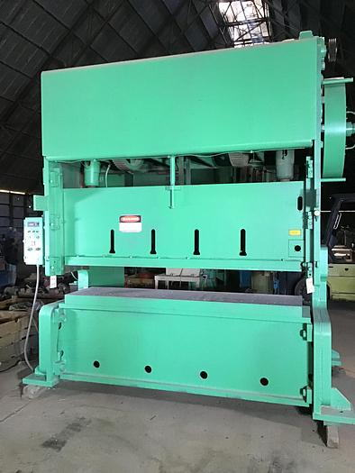 150 Ton ROUSSELLE MODEL G2-150 DOUBLE CRANK GAP FRAME PRESS, 6 Str,
