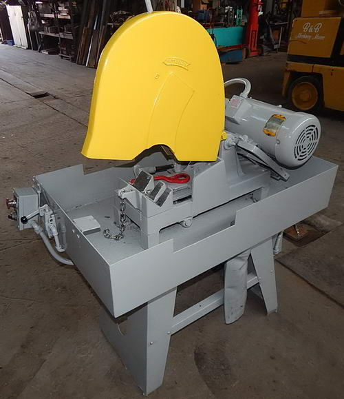 16 EVERETT 14-16 Power Chop Saw, Wet Type, Manual Cut, Pneu Clamping, 10 HP