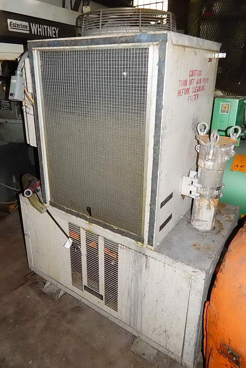 2 TON KOOLANT KOOLERS Chiller, For Soluble Oil w/ Cleanable Heat Exchager, R-22