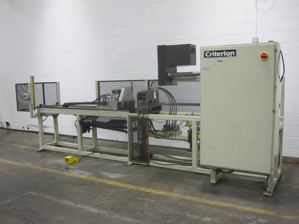 CRITERION AUTO-PIERCE HYD. OVER MANDREL SEMI-AUTOMATIC TUBE PIERCING SYSTEM