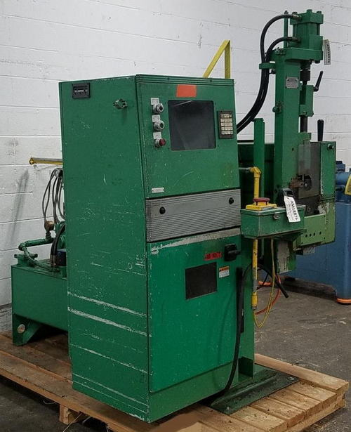 CARSON ENGINEERING & MFG MODEL AHP-2 CNC 2-AXIS SEMI-AUTOMATIC TUBE PUNCH CELL