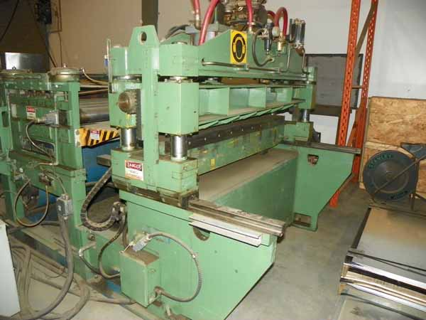 60 x .125 x 20,000 Lb EMAG / METFORM Cut-To-Length Line With Slitter