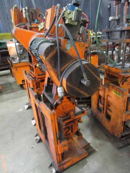 12 Ton TISHKEN Cut-Off Press, 2 Str, 6.5 SH, .5 Ram Adj, 8 x 12 Bed