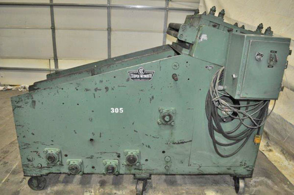5000 Lb. COOPER WEYMOUTH PETERSON C SERIES COIL CRADLE & STRAIGHTENER
