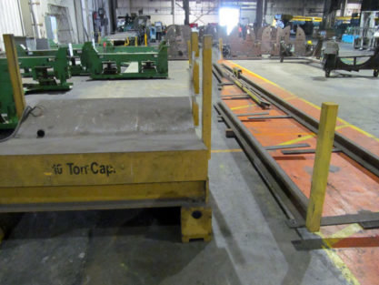 20000 Lb. COIL TRANSFER CAR WITH RAILS