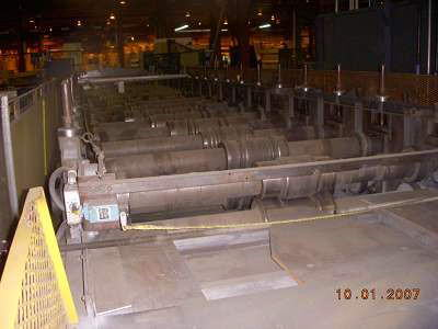 16 STND YODER Building Panel Roll Forming Line, 54 RS, .015 -.030 Thk, 100 HP
