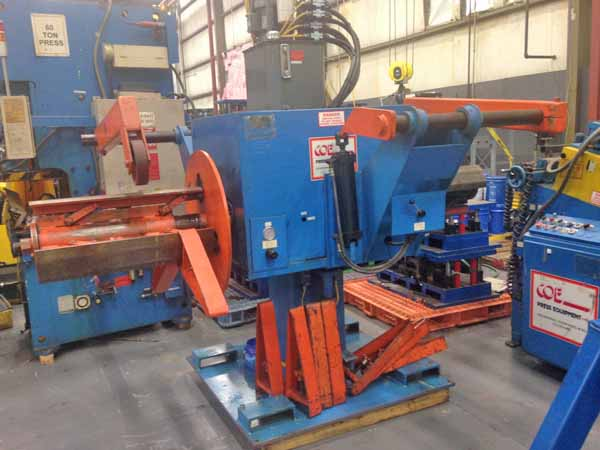6000 Lb. COE DOUBLE END PULL OFF COIL REEL, 1993,