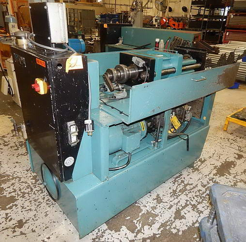 EAGLE SP 10 I/O Sgl End Tube Forming Machine, 10 HP, Trabon Auto. Tooling Lube