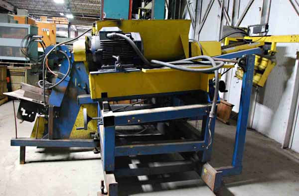 4 OD X 24 MAX. KENT MODEL #1 BRUSH DEBURRING MACHINE