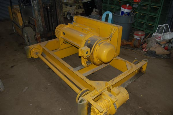 5 Ton P & H MODEL 342J22-6 TROLLEY HOIST,
