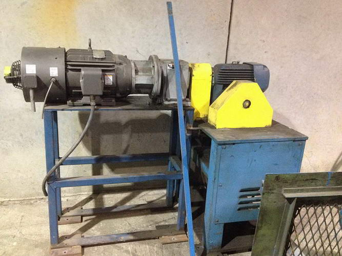 .135 x 60 ROWE Flattener, 3 Over 4, Pinch Rolls, Edge Trimmer, Scrap Chopper