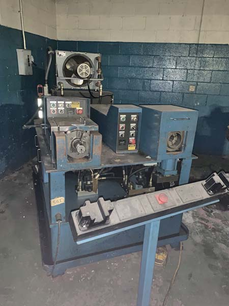 3 EAGLE MODEL C-E-2000-S TUBE END FINISHING & CHAMFERING MACHINE,