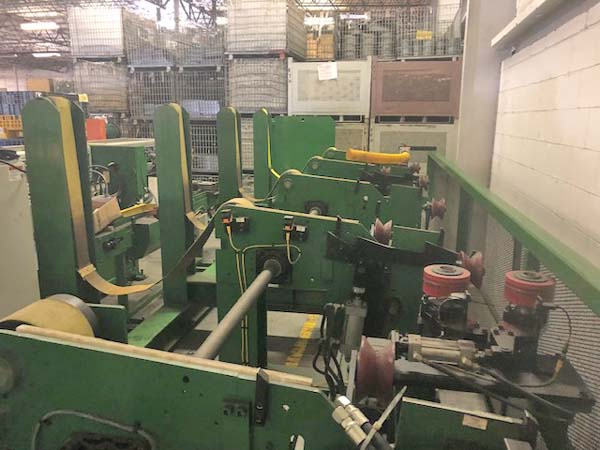 2 HAVEN 620 KleanCut Ring Master Type Cut-Off, 10 Length, 2016, w/Bundle Rack