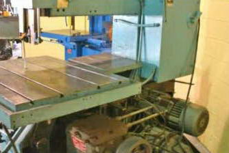1 x 209 TANNEWITZ 3600MH Vertical Band Saw, 32 x 41 Table, 7-1/2 HP