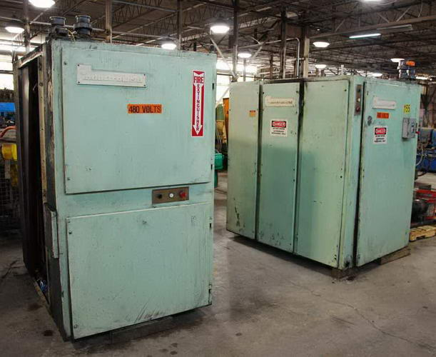225 KW INDUCTROWELD WELDER W/HEAT EXCHANGER