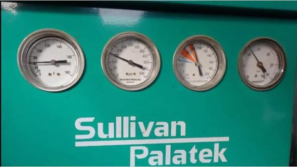 PALATEK MODEL SPTX-1590A-436 CYCLING REFRIGERATED COMPRESSED AIR DRYER,