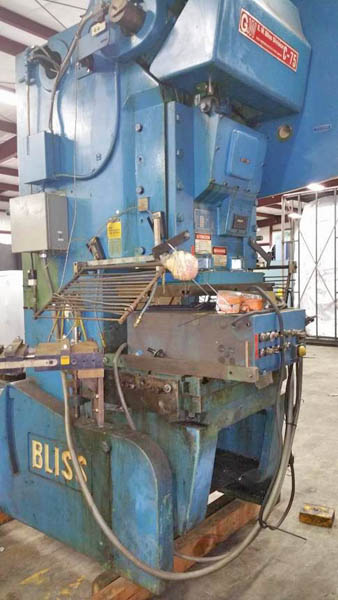 75 Ton BLISS MODEL C-75 OBI PRESS
