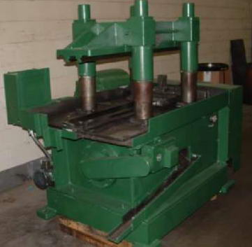 2 ALPHA Model 25-135-300 Cut-Off, Double Cut Swinging Ram, .125 Max Wall