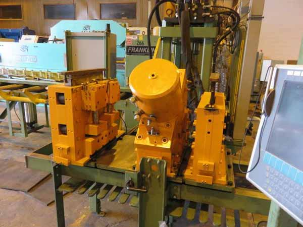 FRANKLIN MODEL 4280 BUILD F3358 CNC ANGLE SHEAR LINE, 2010,