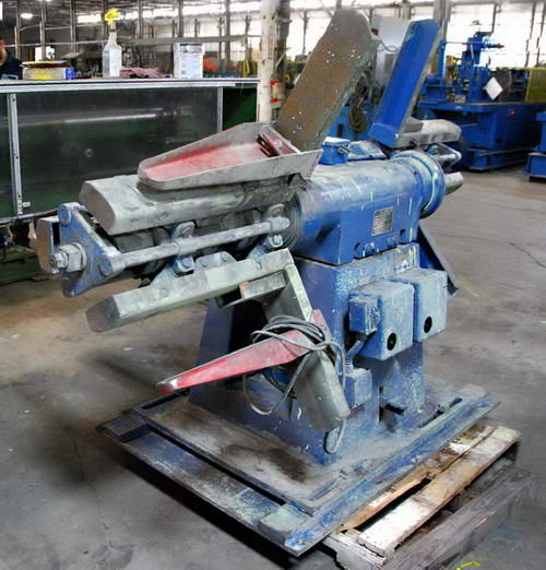 5,000 Lb COOPER WEYMOUTH Double End Uncoiler, 14 to 18 ID, 60 OD, 20 Width