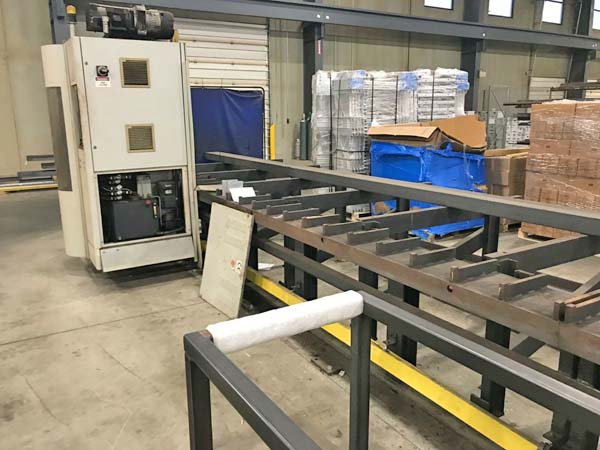 FICEP MODEL VICTORY 1101 DX CNC SPINDLE BEAM/DRILL LINE, 2006,