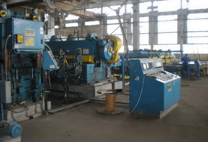 96 x .375 x 60,000 Lb HERR-VOSS Cut-To-Length Line
