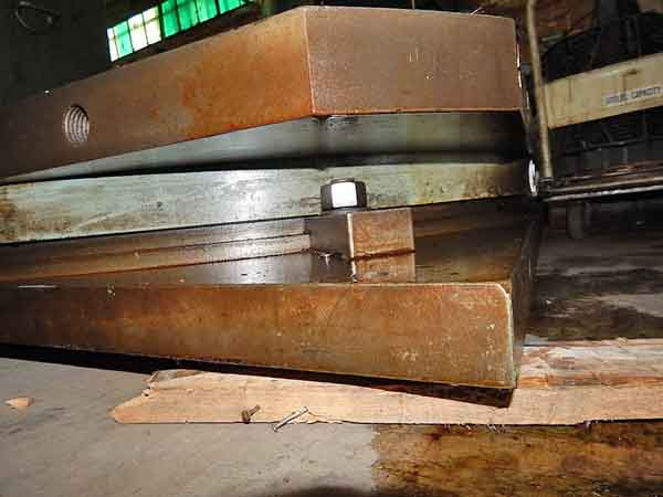 48 x 48 GIDDINGS & LEWIS AIR LIFT ROTARY TABLE