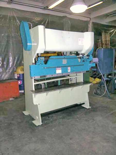 14 Ga. x 6' D & K (CHICAGO) MODEL 56A MECHANICAL PRESS BRAKE, 1956,