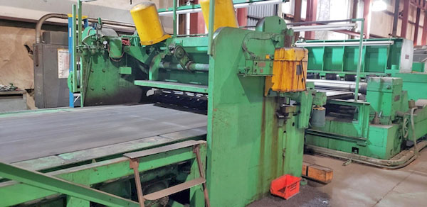 .250 x 84 x 50,000 LB. WARNER & SWASEY CUT-TO-LENGTH LINE