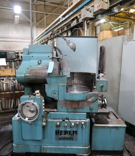 16-7/8 HEALD 261 Horizontal Surface Grinder, 10-1/2 Under Wheel, 15 HP