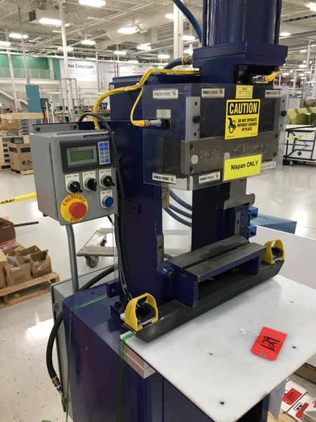 COLUMBIA MARKING TOOLS MODEL 860 ROLL STAMP MARKING MACHINE