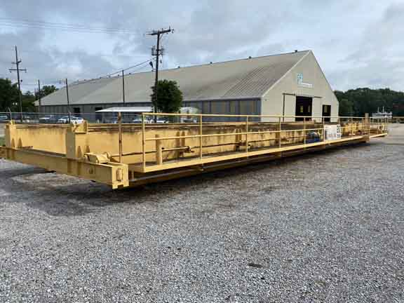 20 Ton LANDEL Double Box Girder Bridge & End Trucks, 68'3-1/2 Width, (2) Avail