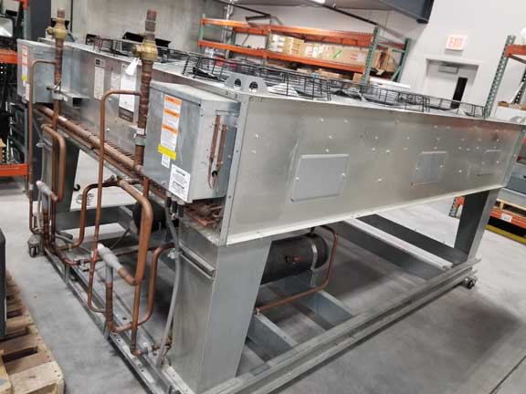 50 Ton DRAKE Air Cooled Chiller, Separate Air Cooled Condensor Unit, 2013