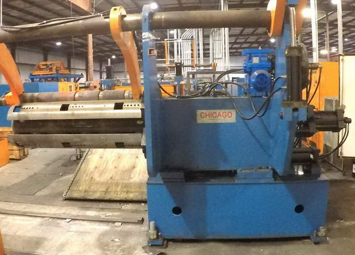 60 x 40,000 Lb CHICAGO Slitting Line With Packaging Line