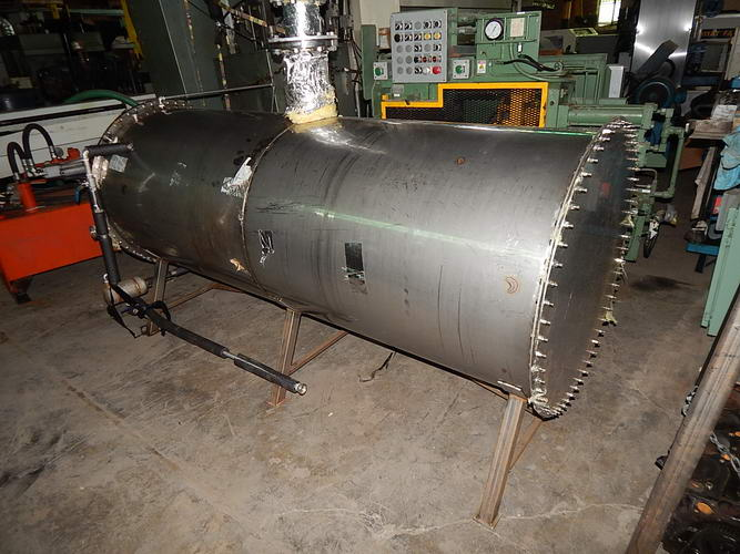 Vapor Recompression System, 1,000 Gallon Stainless Steel Tank, 15 HP, 2013
