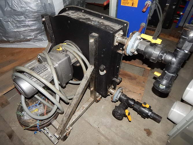 Peristaltic Hose Pump, LSM, 30 GPM @ 25 RPM, Stainless Inlet/Outlet, 2 HP, 2014