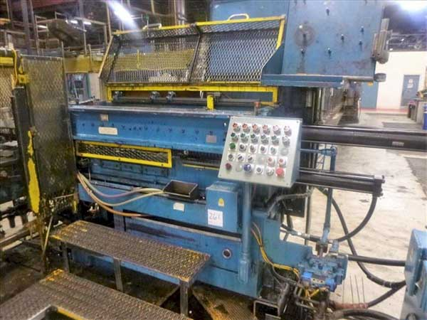 2.2 x 52 MITCHELL MONOTUBE UPPER COUNTERBORE FORMING MACHINE