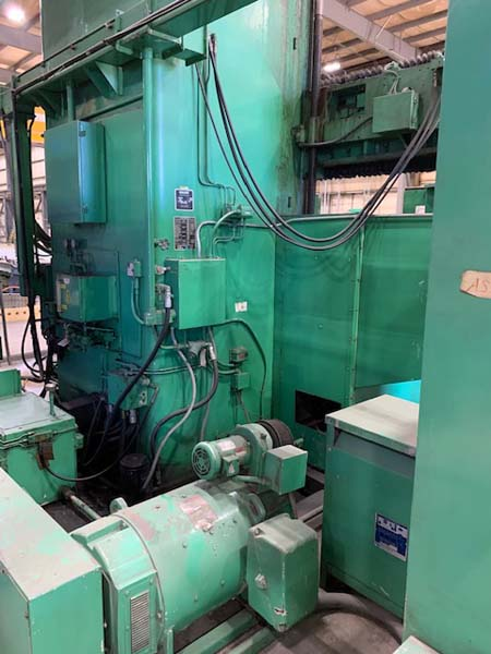 GRAY MODEL RM80 VERTICAL BORING MACHINE