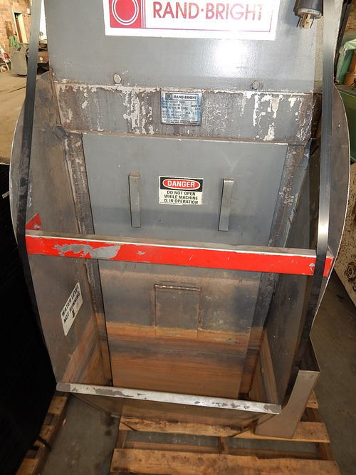 1,800 CFM RAND BRIGHT Wet Type Dust Collector, 5 HP