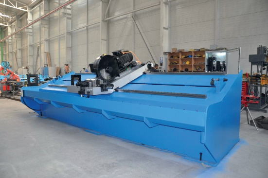 3 High Speed Flying Cold Saw System, TCT/HSS Blade, 25 to 30 kW