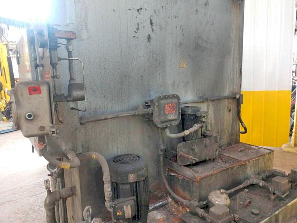 60 Dia x 60 H BETTER ENGINEERING Rotary Table Parts Washer, 2,500 Lbs, 15 HP