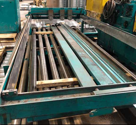 60 x .064 x 20,000 LB IOWA PRECISION MULTI-BLANK SLEAR CUT TO LENGTH LINE